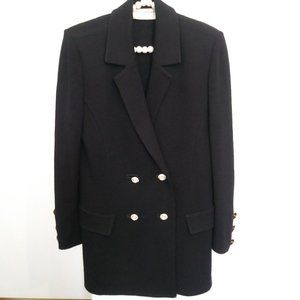 St. John - Vintage Black Knit Blazer